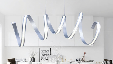 Moderne LED suspension