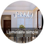 Luminaire simple